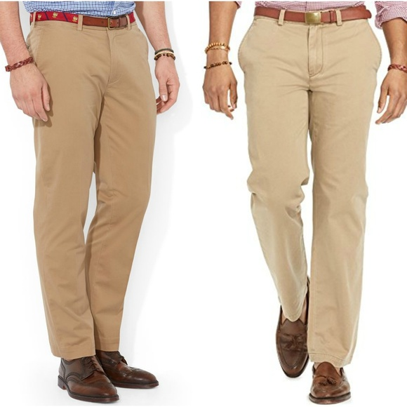 huge selection of online retailer preview of POLO RALPH LAUREN Khaki Pants Flat Front Suffield